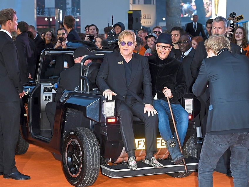 Kingsman: The Golden Circle - Bridgnorth Hummer buggies take centre stage at world premiere
