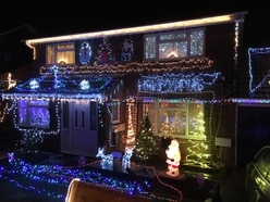Last chance to see fundraising festive lights