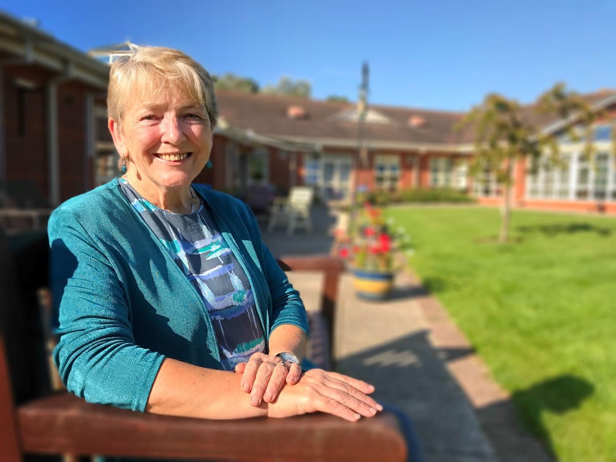 Jeanette Whitford, the new chairwoman of Severn Hospice