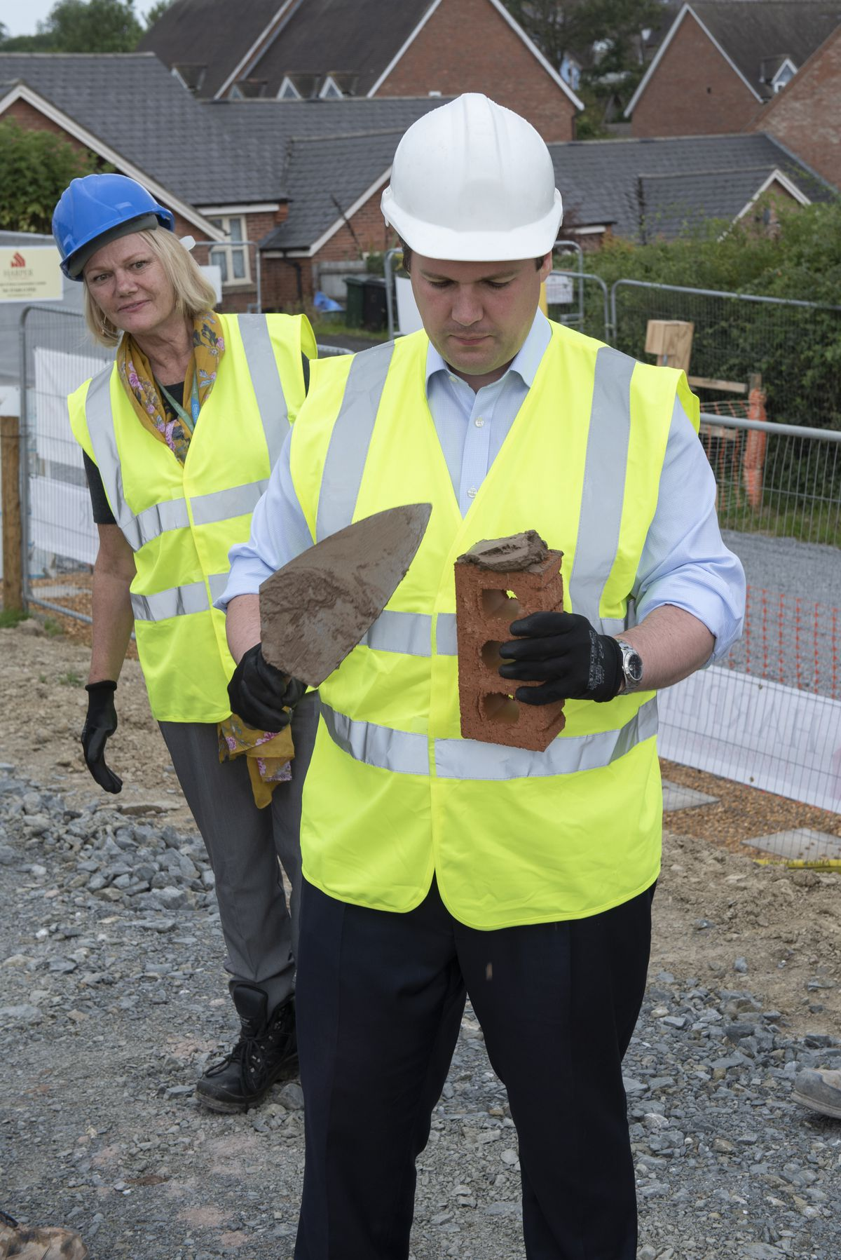 Secretary of State for Housing, Communities and Local Government, Robert Jenrick MP