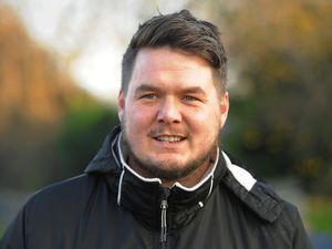Shifnal Town joint manager Andrew Carrier