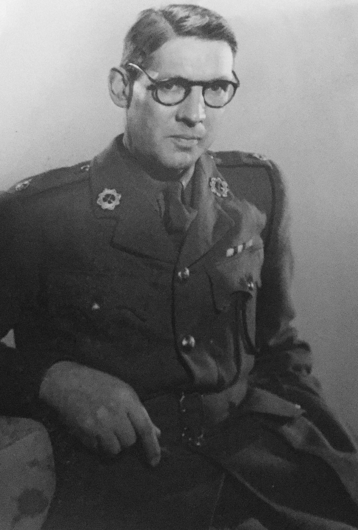 Shrewsbury's Captain Howard Bretherton successfully escaped from Japanese captivity