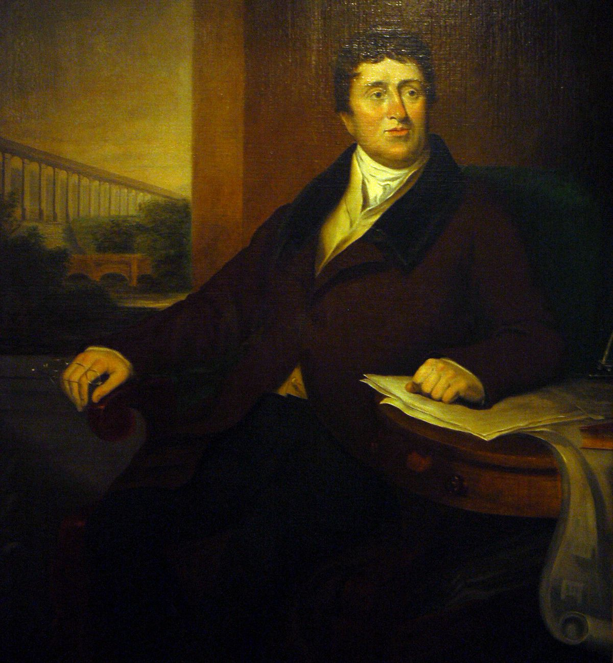Thomas Telford often gets credited for the 18th century work at the castle.