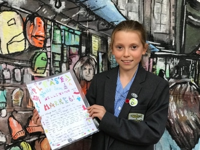 Traders inspired by school star Anna campaigning to keep market open