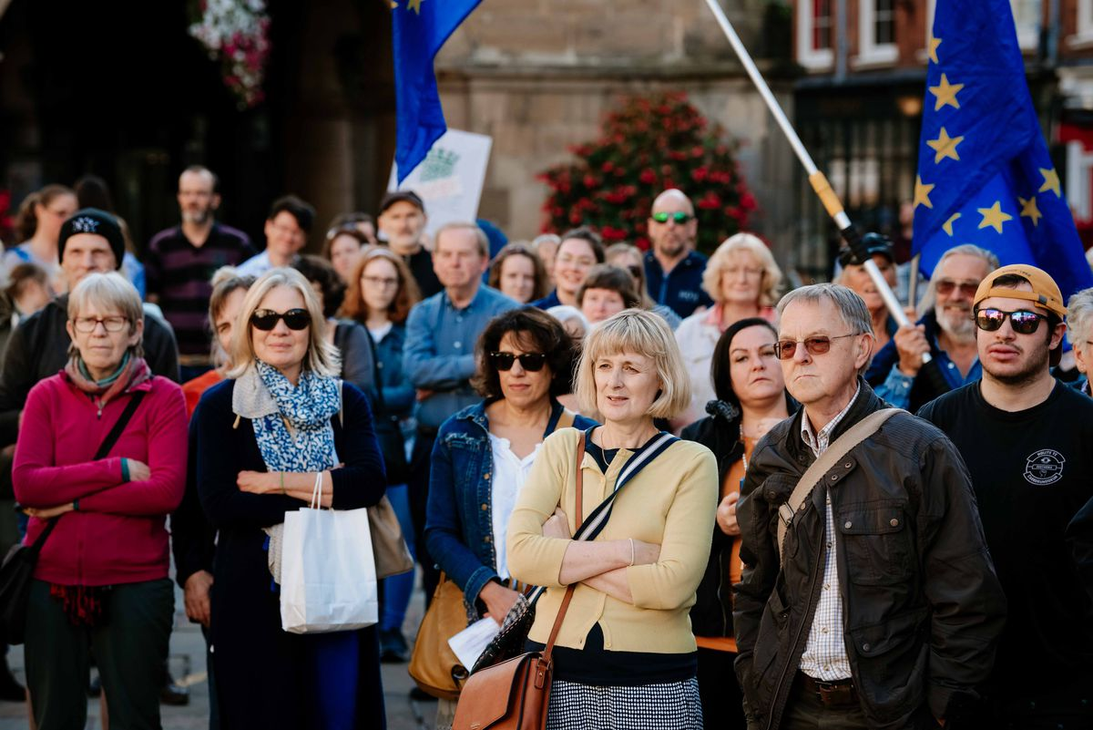 The Shrewsbury protest