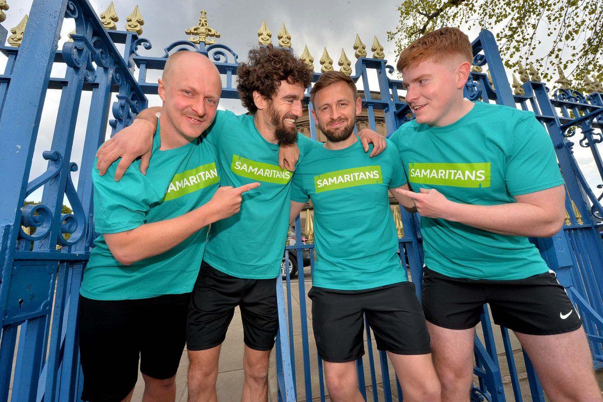 All set for their marathon run