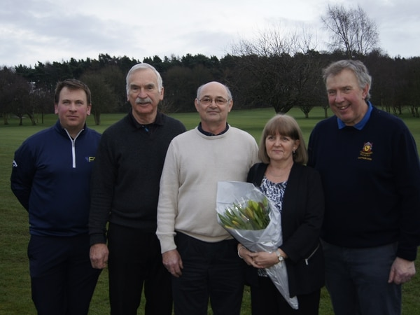 Greenkeeper Simon Cotterill gives 30 years of service to club