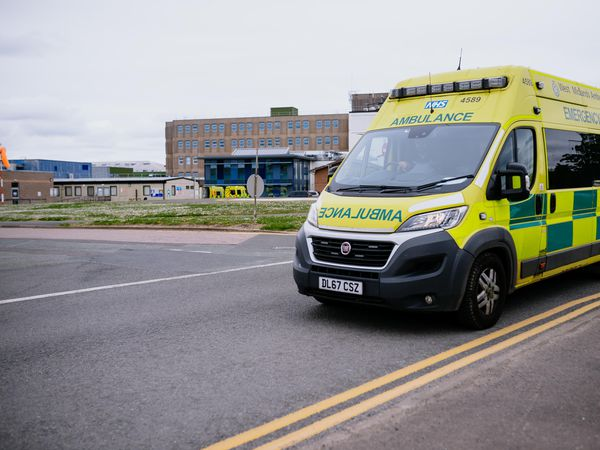 The county's ambulance service has voiced frustration at the issues it has faced in handovers at local hospitals