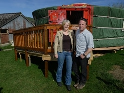 Glamping and wedding site near Oswestry spruced up and ready for guests