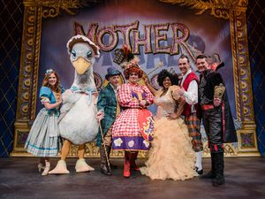 The stars of Mother Goose