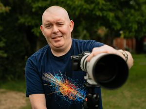 """LAST COPYRIGHT SHROPSHIRE STAR JAMIE RICKETTS 12/05/2020 - Weekend """"Real Life"""" - Photographer Paul Murray from Telford.."""