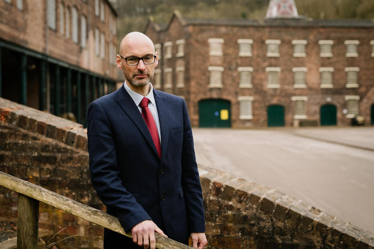 Nick Ralls is the chief executive of the Ironbridge Gorge Museum Trust