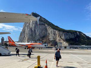 Rocking in Gibraltar.