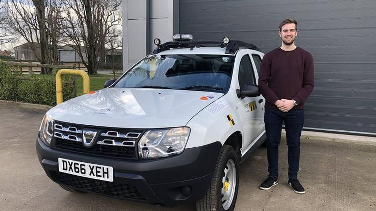 James Seymour is aiming to kick start a series of student research projects to transform a manual transmission car to a driverless vehicle
