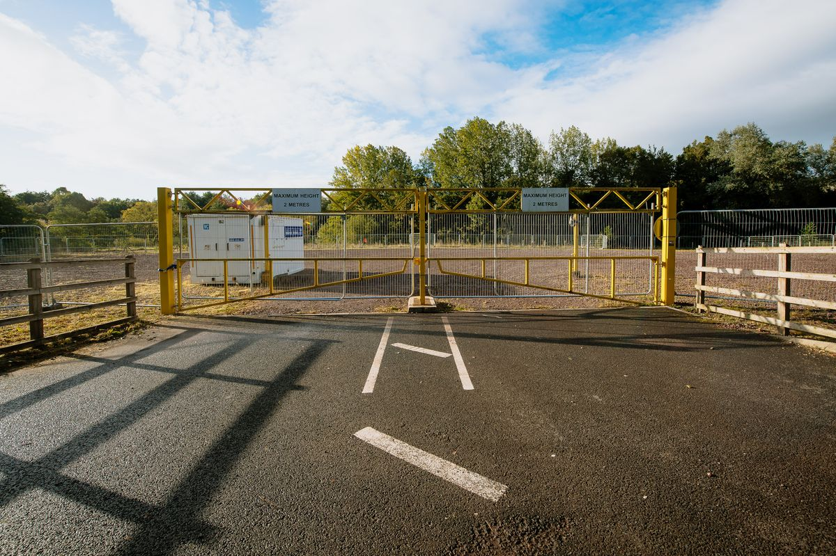 The Randlay Valley Car Park in Telford