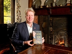 No mug's game: Earl Spencer promotes new book - WATCH