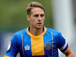 Dave Edwards thankful for support from Shrewsbury Town bosses