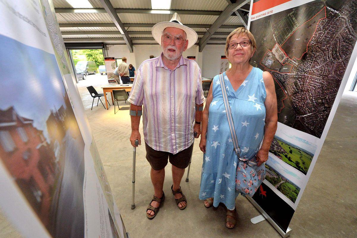 Gwyn and Jenny Davies