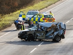 Casualty suffers multiple injuries in Oswestry crash