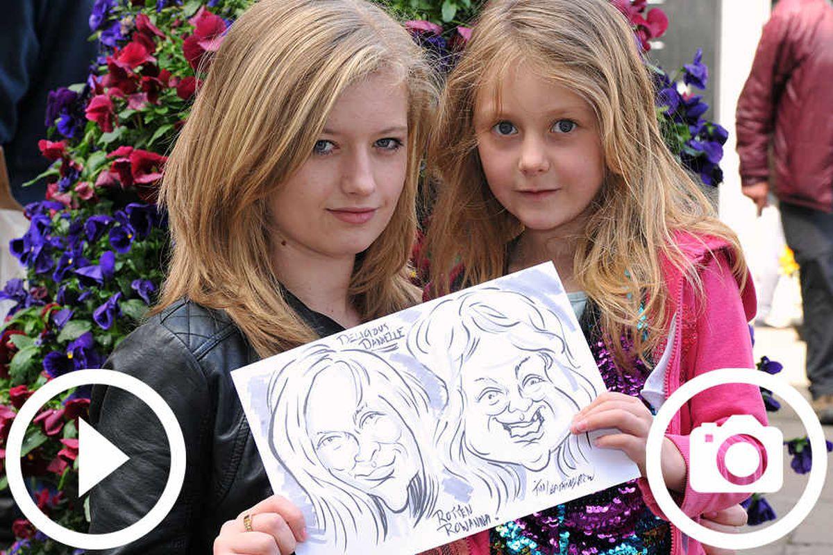 Shrewsbury Cartoon Festival wins £2,000 grant to keep it going
