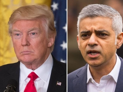 Why are Donald Trump and Sadiq Khan feuding again?