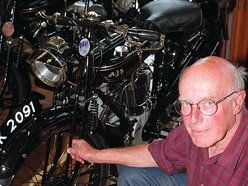 Tributes paid to legendary motorbike builder and racer from Shrewsbury