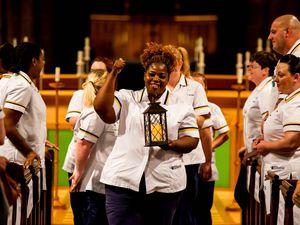 University of Wolverhampton student nurses celebrate graduation