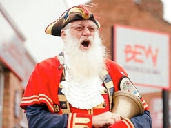 Oyez, Martin's still the talk of the town after 35 years as Shrewsbury's town crier
