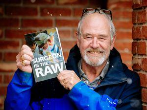 David Jackson, from Church Stretton, has written a memoir of his life as a military surgeon