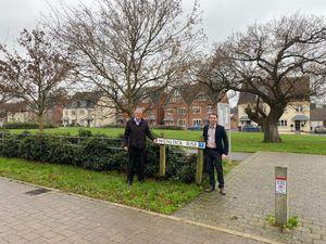 Councillors Les Winwood and Elliott Lynch, who represent Bridgnorth West & Tasley