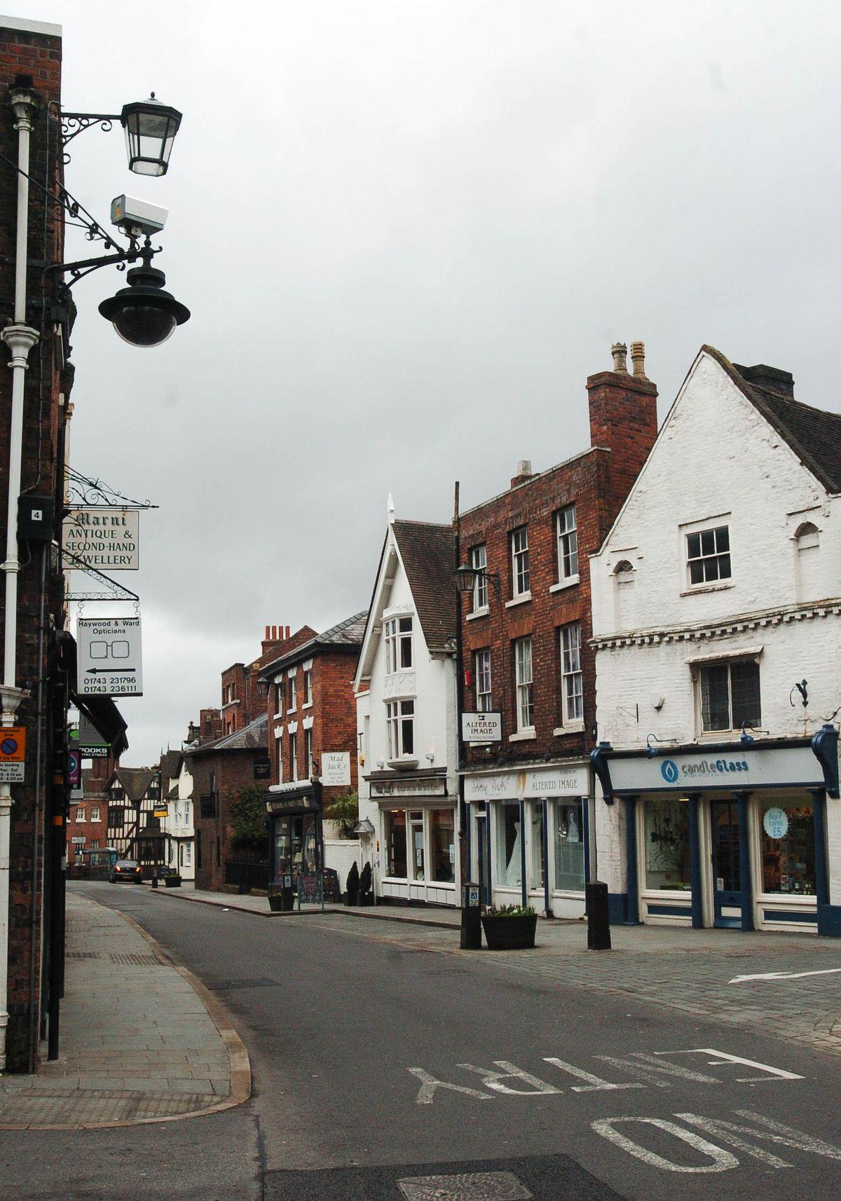 St Mary's Street towards Dogpole