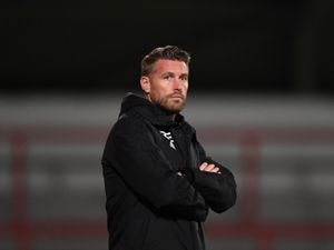 Rob Edwards the head coach / manager of Wolverhampton Wanderers U23's.