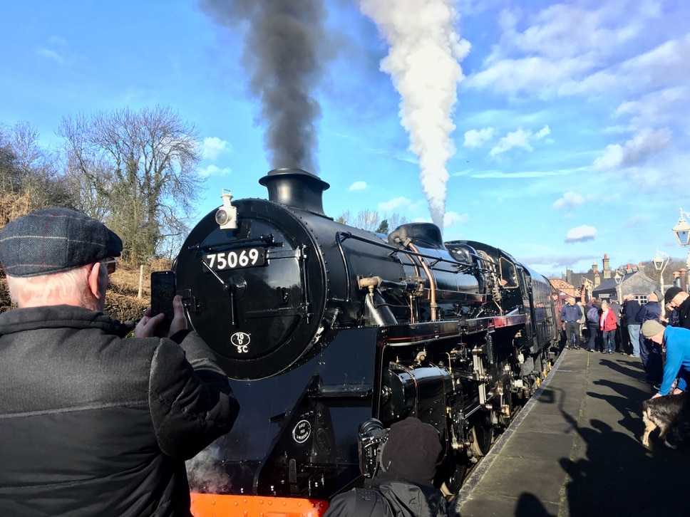 Full steam ahead for Severn Valley Railway locomotive