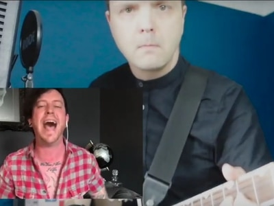 Watch: Telford's Exotic Zoo owner teams up with music teacher for coronavirus message in song
