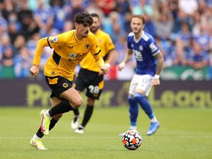 Leicester v Wolves match action (Getty)