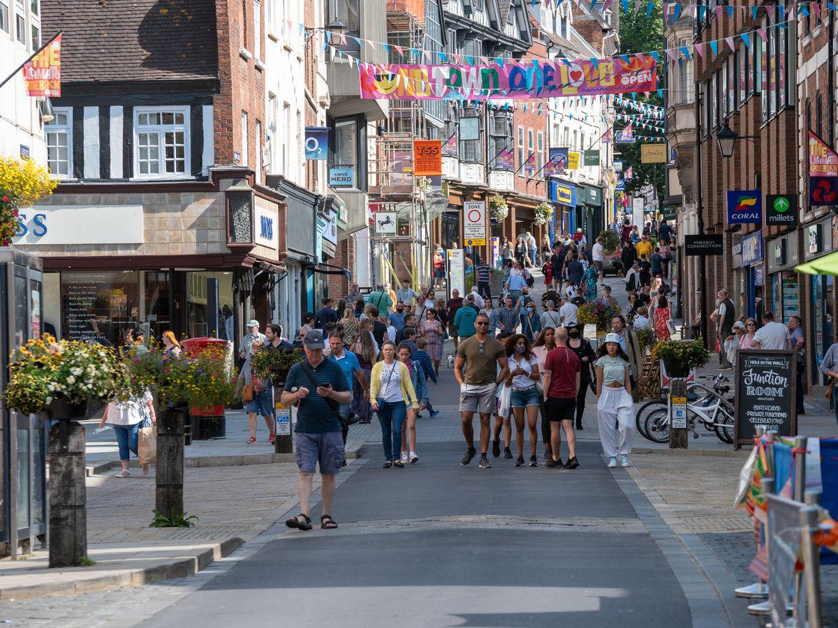 Shrewsbusy town centre could be pedestrianised again. Photo: Shrewsbury BID
