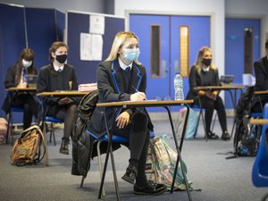 Advice on face coverings in schools and colleges remains in place after Easter