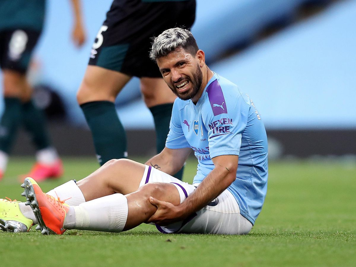 Manchester City are still without striker Sergio Aguero