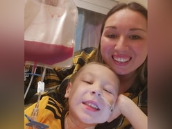 'We did it': Tears and relief as poorly Zac, 4, starts his treatment in America