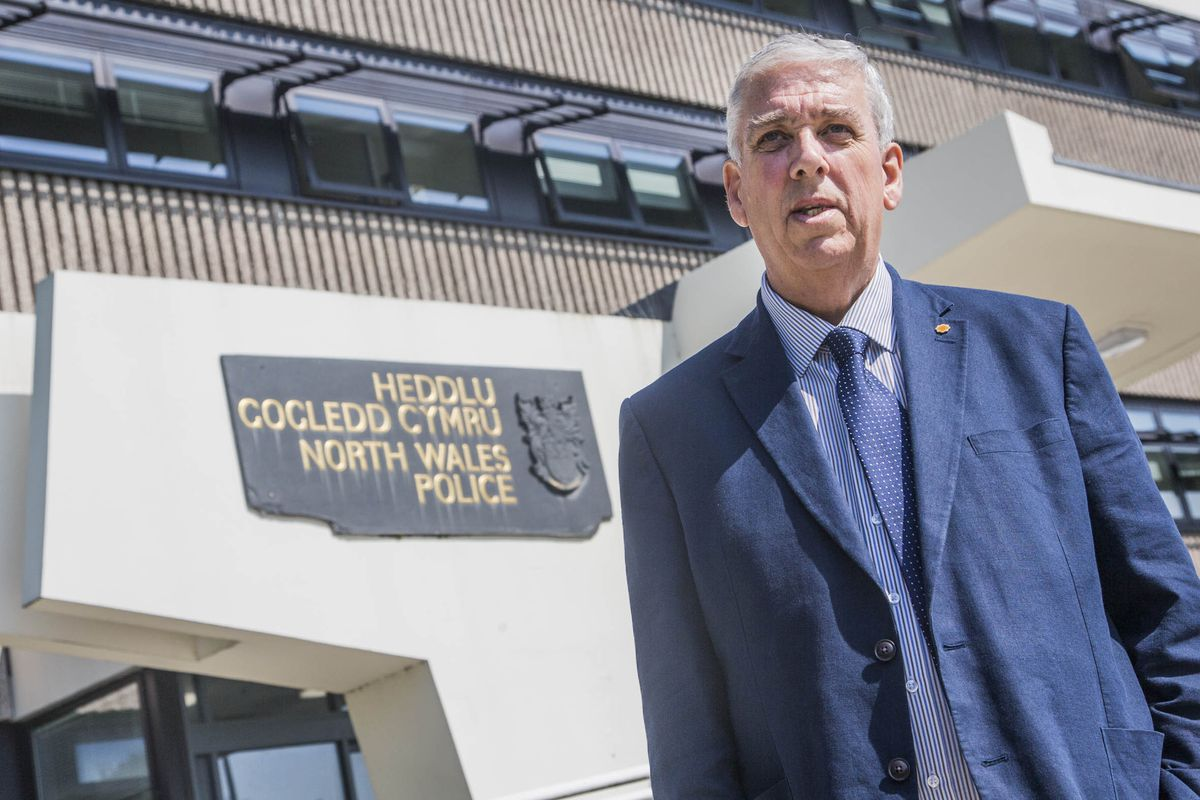 Arfon Jones, the North Wales Police and Crime Commissioner