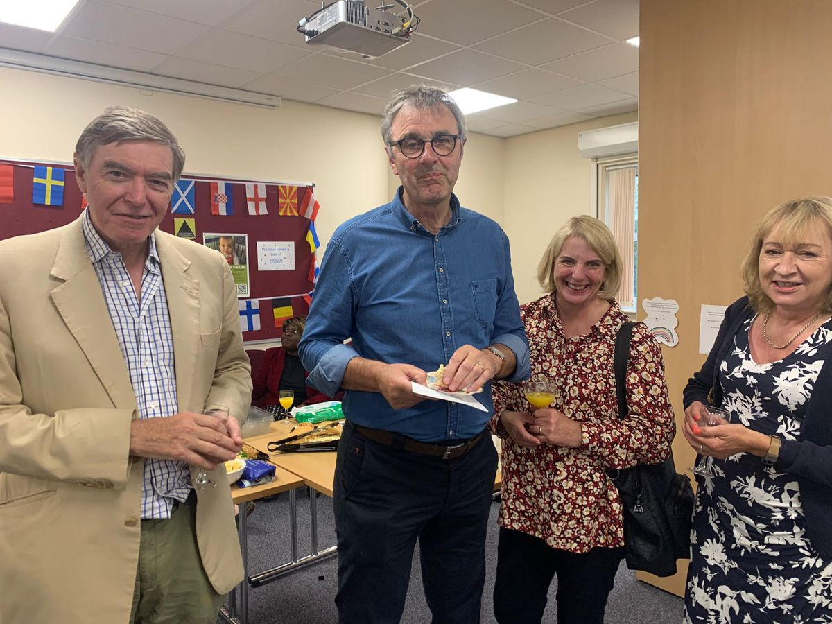 Pictures from the thank you event for vaccination teams in Bridgnorth