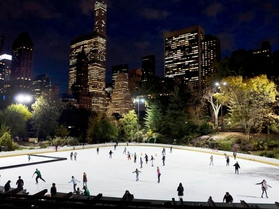 Trump name removed from ice rinks in New York's Central Park
