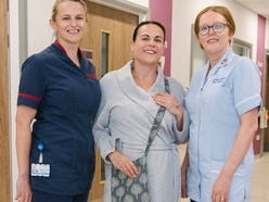 Custom bag covers created by Oswestry nurse protect patients' dignity