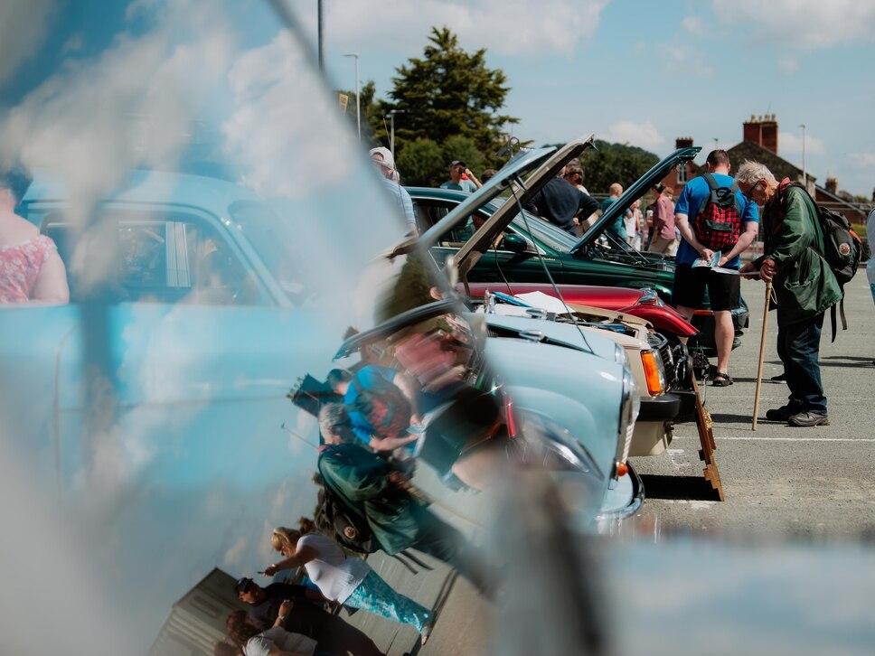 Sun shines on transport festival