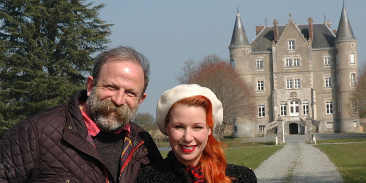 Escape to the Chateau stars Dick and Angel appeared at Theatre Severn