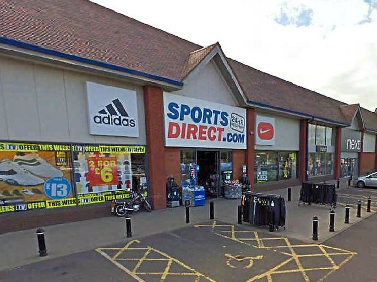 The current Sports Direct store. Photo: Google StreetView.