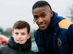 Omar Beckles: The Shrewsbury Town team is united