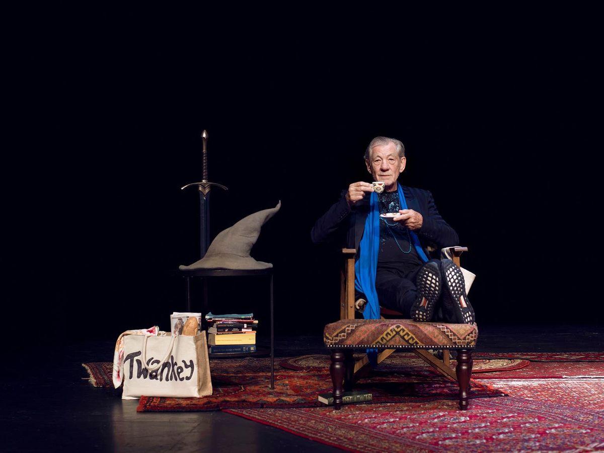 Sir Ian McKellen On Stage