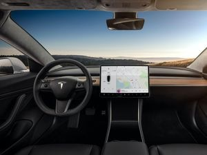 Model 3 - Interior Dashboard