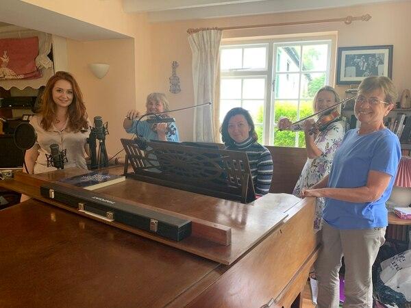Shropshire soprano leads concert supporting album release